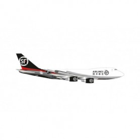 Herpa Wings 534222 Flygplan SF Airlines Boeing 747-400ERF