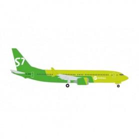Herpa Wings 534260 Flygplan S7 Airlines Boeing 737 Max 8