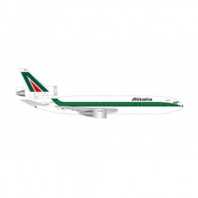 Herpa Wings 534277 Flygplan Alitalia McDonnell Douglas 10-30 '50th anniversary'