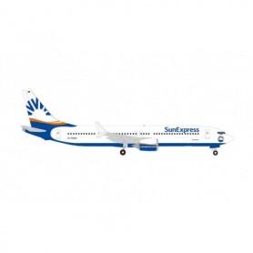 Herpa Wings 534291 Flygplan Sun Express Deutschland Boeing 737 Max 9