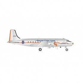 Herpa Wings 570862 Flygplan American Airlines System Douglas DC-4 – 'Flagship Washington'