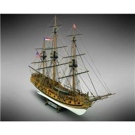Mamoli MV36 Rattlesnake - 20 gun privateer ship 1781