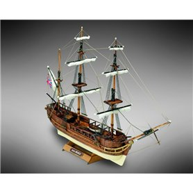 Mamoli MM03 Beagle - Wooden model kit with pre-carved hull