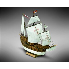 Mamoli MM02 Santa Maria - Wooden model kit with pre-carved hull