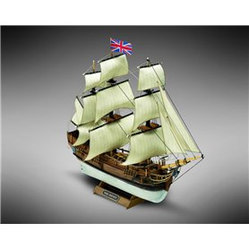 Mamoli MM01 Bounty - Wooden model kit with pre-carved hull
