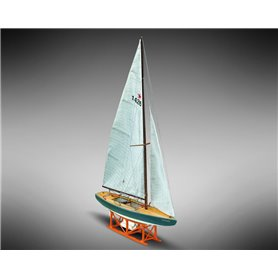 Mamoli MM62 Star Genzianella - Wooden model kit with pre-carved hull