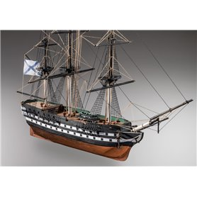 Mamoli MM73 Alexander Newsky - Wooden model kit with pre-carved hull