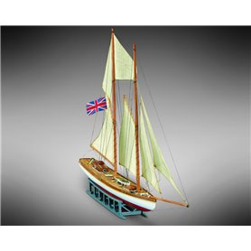 Mamoli MM69 Goletta Elisabeth - Wooden model kit with pre-carved hull