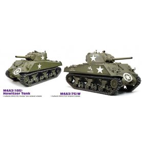 Dragon 75055 1/6 M4A3 105mm Howitzer Tank / M4A3(75)W (2 in 1)