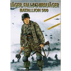 Dragon 1628 Figur Jäger, Fallschirmjäger Batallion 500