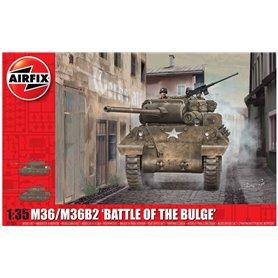 Airfix A1366 Tanks M36/M36B2, Battle of the Bulge
