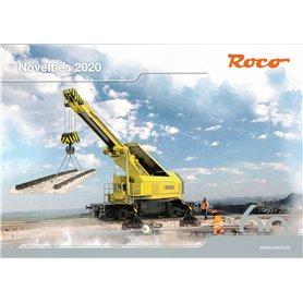 Roco 80820 Roco Nyhetskatalog 2020 Engelska