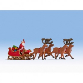 Noch 15924 Santa Claus with carriage