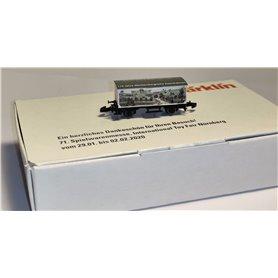 Märklin 80130 Godsvagn Toy Fair Nürnberg 2020
