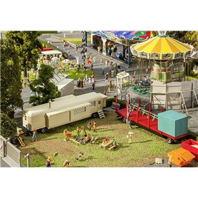 Faller 140480 Set of funfair caravans I