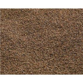 Faller 180786 Gräsmatterulle, helbrun grus/sten, mått 100 x 75 cm