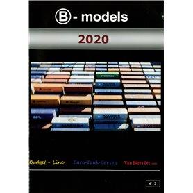 Media KAT516 B-Models Huvudkatalog 2020