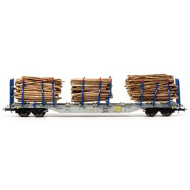 """B Models 54201 Vagnsset med 3 Stolpvagnar Sgns """"Cargolink AS"""" Set 2"""