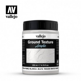 Vallejo 26212 Rough White Pumice Diorama Effects, 200 ml
