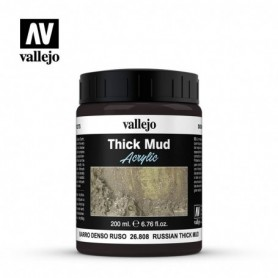 Vallejo 26808 Russian Mud Diorama Effects, 200 ml