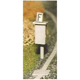"Erbert 042302 Signaltelefon på stolpe ""Signalfernsprecher"", 2 st"
