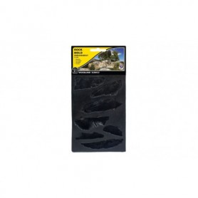 Woodland Scenics C1233 Embankments Rock Mold, 12.7 cm x 17.7 cm