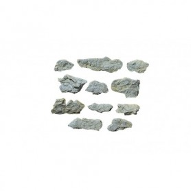 Woodland Scenics C1231 Surface Rocks Mold, 12.7 cm x 17.7 cm