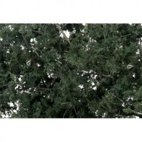 Woodland Scenics F1130 Foliage 'Fine-Leaf', mörkgrön, 120 cl i box