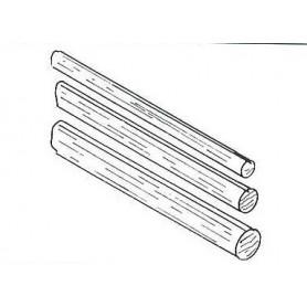 Weinert 9382 Rundstav, 4 mm i diameter, 10 st, längd 250 mm