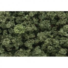 Woodland Scenics FC144 Klumpfoliage, grov, olivgrön, 35 cl i påse
