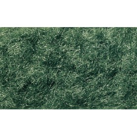 Woodland Scenics FL636 Statiskt gräs, mörkgrön, 1-3 mm längd, 95 cl i burk