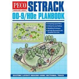 Peco PM-400 Spårplansbok OO-9/HOe Setrack Planbook