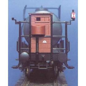 Weinert 4200 Slutbelysning för godsvagn, byggsats med microlampor, omålad
