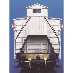 Weinert 4204 Slutbelysning för godsvagn, byggsats utan microlampor, omålad