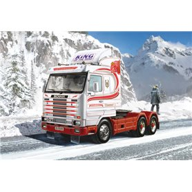 Italeri 3944 Dragbil Scania Streamline 143H 6x2
