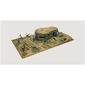Italeri 6070 Bunker & Accessories
