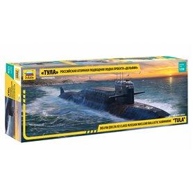 "Zvezda 9062 Ubåt Delfin (Delta IV) Class Russian nuclear ballistic submarine ""TULA"""