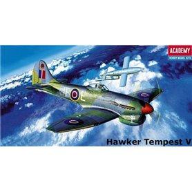 Academy 12466 Flygplan Hawker Tempest V