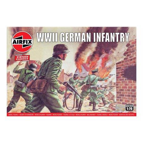 """Airfix 00705V Figurer WWII Germany Infantry """"Vintage Classics"""""""