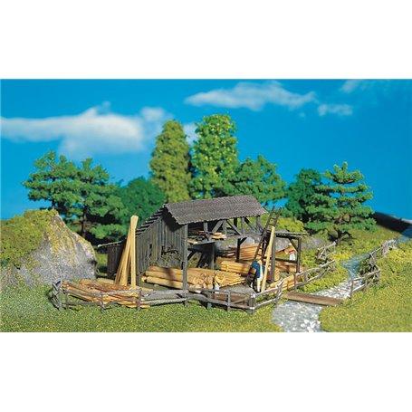 "Faller 130288 Skogsbyggnad ""Lumber Yard"""