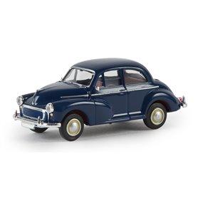 Brekina 15209 Morris Minor Limousine, mörkblå, TD