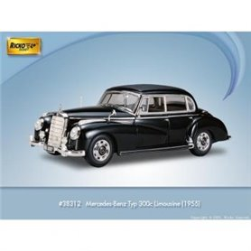 Ricko 38312 Mercedes Benz 300C W186, svart, PC-Box