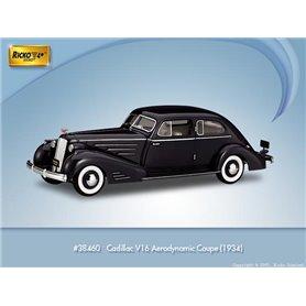 Ricko 38460 Cadillac V16 Aerodynamic Coupe 1934, PC-Box