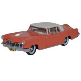Oxford Models 116085 1956 Continental MkII Island Coral Starmist White