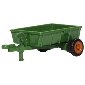 Oxford Models 133686 Farm Trailer Green