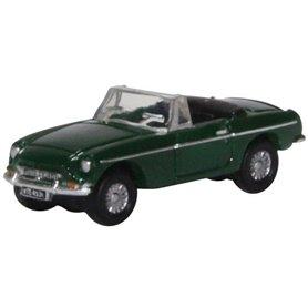 Oxford Models 133822 MGB Roadster British Racing Green