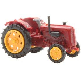 Busch 210010108 Traktor Famulus tractor, red