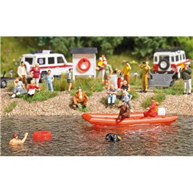 Busch 7897 Water Rescue Set 1
