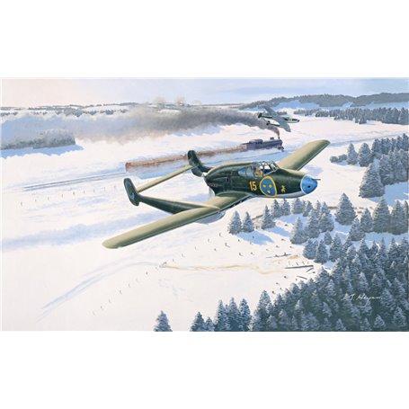 Pilot Replicas 48A001 Flygplan SAAB J 21 A3