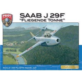 Pilot Replicas 48A003 Flygplan SAAB J29 F - Austria